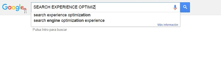 Search Experience Optimization